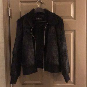 Mixit rabbit fur jacket XL